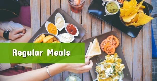Regular Meals