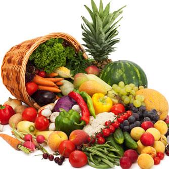 写真:くだものと野菜