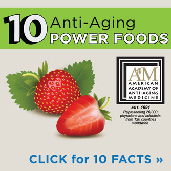 Anti-Aging Tip Sheet:  Eat to Live
