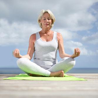 Yoga Improves Sleep in Menopausal Women