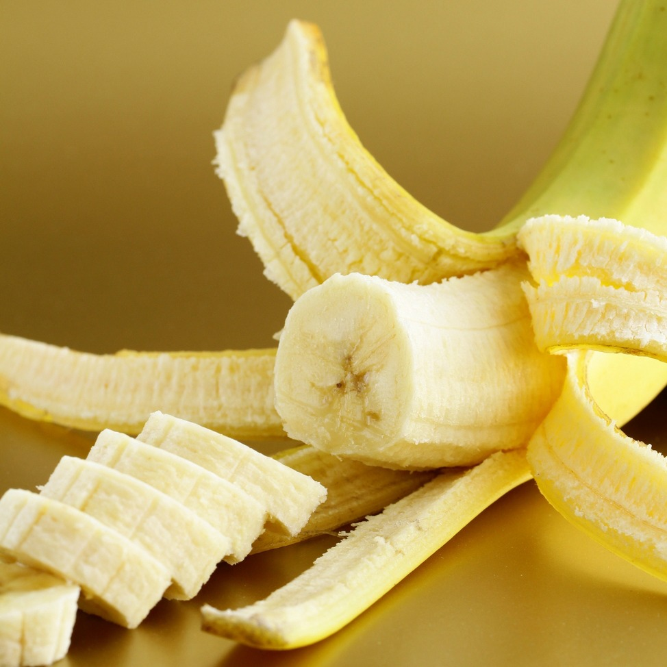 how to cut banana for finger food