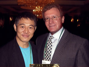 Dr. Goldman and Jet Li