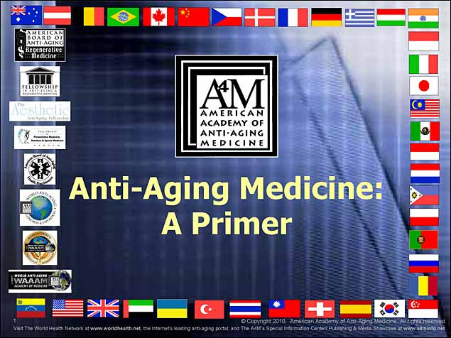 Intro to AntiAging Slideshow